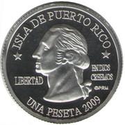 1 Peseta (Arroyo) – obverse