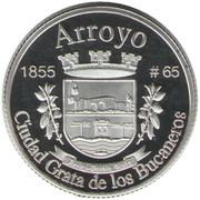 1 Peseta (Arroyo) – reverse