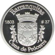 1 Peseta (Barranquitas) – reverse