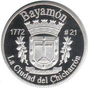 1 Peseta (Bayamón) – reverse