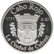 1 Peseta (Cabo Rojo) – reverse
