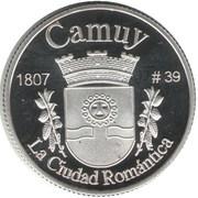 1 Peseta (Camuy) – reverse
