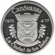 1 Peseta (Canóvanas) – reverse