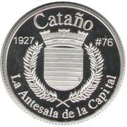 1 Peseta (Cataño) – reverse