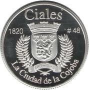 1 Peseta (Ciales) – reverse