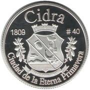 1 Peseta (Cidra) – reverse