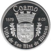 1 Peseta (Coamo) – reverse