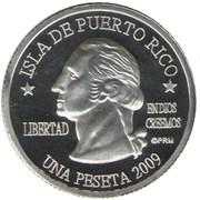 1 Peseta (Culebra) – obverse