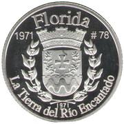 1 Peseta (Florida) – reverse