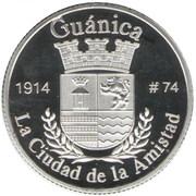 1 Peseta (Guánica) – reverse