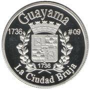 1 Peseta (Guayama) – reverse