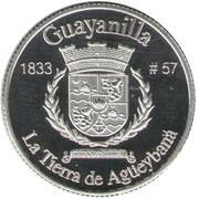 1 Peseta (Guayanilla) – reverse