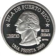 1 Peseta (Guaynabo) – obverse