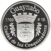 1 Peseta (Guaynabo) – reverse