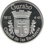 1 Peseta (Gurabo) – reverse