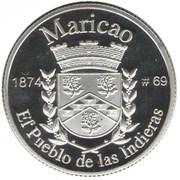 1 Peseta (Maricao) -  reverse