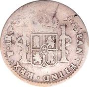 1/8 Dollar (Counterstamped) -  reverse