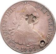 1 Dollar (Counterstamped) – obverse