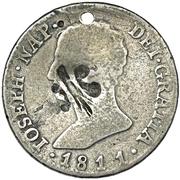 1/5 Dollar (Counterstamped) – obverse