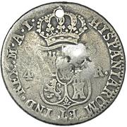 1/5 Dollar (Counterstamped) – reverse