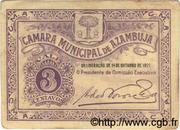 3 Centavos (Azambuja) – obverse