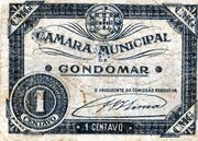 1 Centavo (Gondomar) – obverse