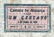 1 Centavo (Alpiarca) – obverse