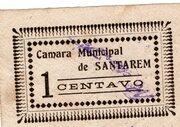 1 Centavo (Santarem) – obverse