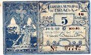 5 Centavos (Braga) – obverse
