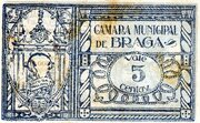 5 Centavos (Braga) – reverse