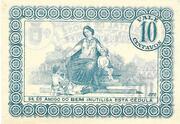 10 Centavos Arcos de Valdevez – reverse