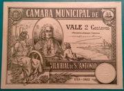 2 centavos  (Vila Real de Santo António) – obverse