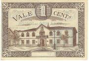 1 Centavo (Vila Nova De Fozcoa) – reverse