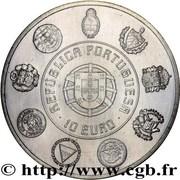 10 Euro (Escudo) – obverse