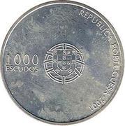 1000 Escudos (2004 UEFA Euro) – obverse