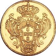 Peça - Maria I & Pedro III – reverse