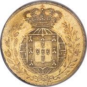 ½ Peça - João VI – reverse