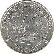 1000 Escudos (Discovery of the New World) -  reverse