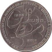 10 Euro (EU Membership) – reverse