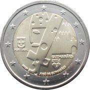 2 Euro (Guimarães) -  obverse