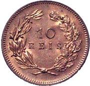 10 Réis - Carlos I -  reverse