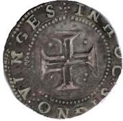 Tostão - Filipe II (L-B at each side of the shield) – reverse