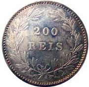 200 Réis - Luís I -  reverse