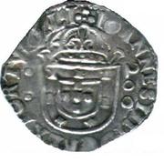 ½ Cruzado - João IV (Évora) – obverse