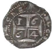 ½ Cruzado - Afonso VI (Lisbon) – reverse
