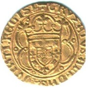 Cruzado - Afonso V – obverse