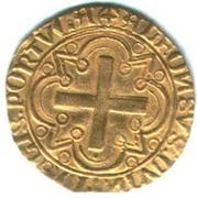 Cruzado - Afonso V – reverse