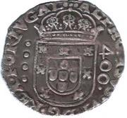 Cruzado - Afonso VI – obverse