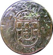 1½ Réis - Pedro Prince Regent – obverse