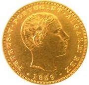 2000 Reis - Pedro V – obverse